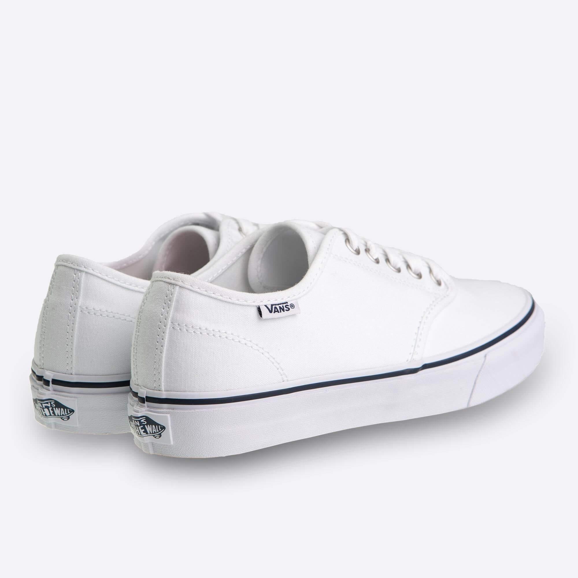 39d3c646067 Dámské bílé tenisky Vans Camden Stripe Canvas White And Navy