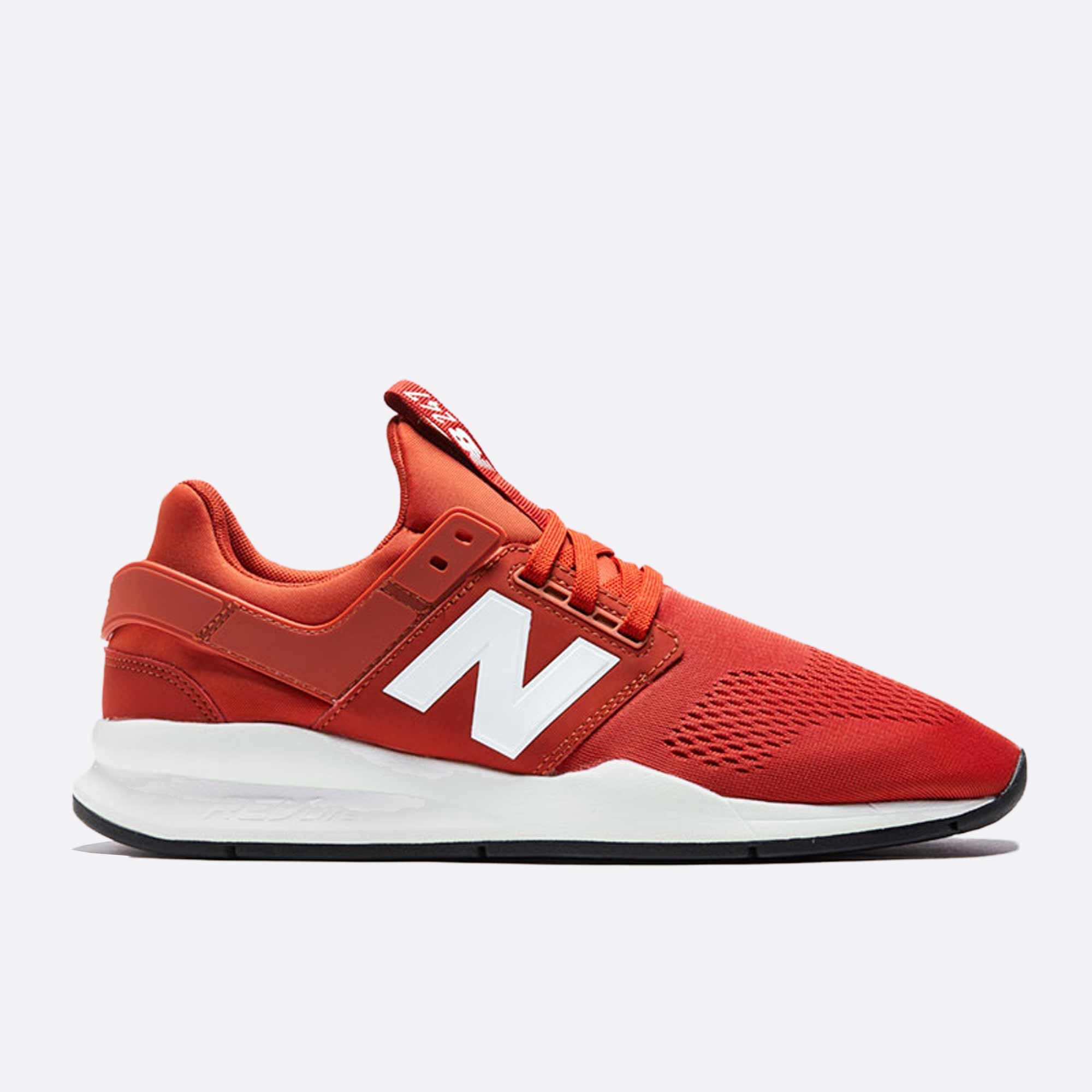 Pánské červené tenisky New Balance MS247ES  df79941ad98